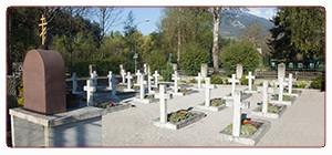 Kosakenfriedhof in Lienz