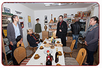 Teerunde im Kosakenmuseum